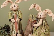 Primitive Easter decor / by Lorrie Ackerman