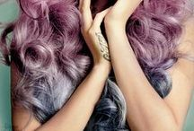 Hair Inspiration / my hair wishlist, pastel hair, mermaid hair, short hair  www.honeypopkisses.com