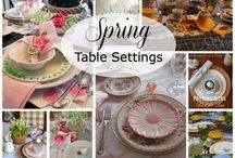 Spring! / Spring decorating ideas, spring crafts. All things Spring!