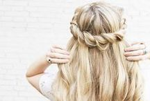Wedding Half-Updo's / Are you not quite sure what you would like..... mixed between an updo and hair down?? Try a half updo!