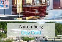 Nuremberg CARD / Your perfect escort for 2 days! One card - many opportunities: 2 days free admission to all museums and attractions + 2 days free travel on public transport services! Have a look at the different opportunities!