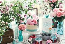 Table decorations for weddings, picnics & life! / Inspiration for the perfect table decor