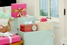 Packaging and Gift Ideas / Ideas for how to wrap that special present, ideas on making that special present