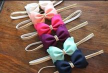the splendid bow / handmade accessories for little ones. we currently specialize in bow ties for little guys and fabric bows/headbands for girls! / by Alex Webb