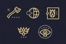 Iconography / by Hillary Fisher ♆ HF Creative