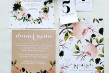 You're Invited. / -Wedding Invites, Party Invites- / by Madison Elizabeth