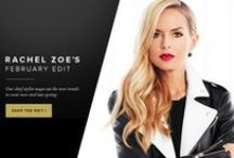 Rachel Zoe's Edit / Our Chief Stylist's favorite picks for the month! / by ShoeDazzle