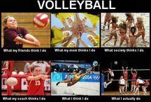 volleyball / by Julie Heidemann