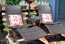 Outdoor Decor / Inspiration for decorating outside