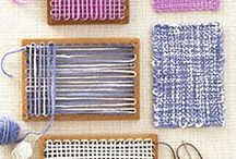 Weaving My Heart Out / Awesome Weaving Ideas / by Rosemary Jorden
