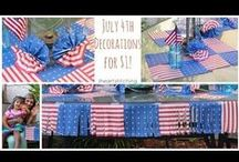 4th of July / Fun, family ideas to celebrate the 4th of July