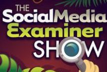 Social Media Examiner Show Audio Blog / Trying to navigate the social media jungle? Limited on time? You can download the audio version of some of Social Media Examiner's best articles and listen to them on the go for FREE! These articles bring you tips and insights about Facebook, Pinterest, Twitter and more!