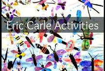 Eric Carle Author Study / Author Study activities for Eric Carle book in Primary.