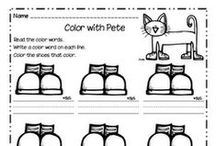 Pete the Cat / Do your kids love fun stories and a cool character? Find activities and ideas to go along with Pete the Cat books!