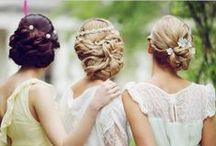Bridesmaid Updos / Are you a bridesmaid in need of some inspiration?? This board will help you figure out what style you would like!