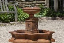 Fountains / Fountains for outdoor garden art and decor