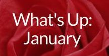 What's Up: January / New Year, Resolutions, Blue Monday, Martin Luther King Day & More