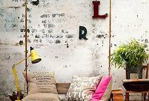D-coración / Ideas Diy y otros, para crear espacios interiores  y exteriores