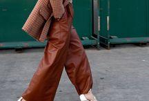 Automne-Hiver 2017 / Fashion Street style Look automne Couleur