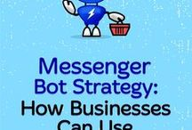 Facebook Messenger Bots / Social Media Examiner articles on Facebook Messenger Bots.  How to create your own bot and best practices for using in your social media marketing strategy.