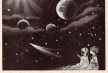 Vintage Prints / Various imagery from the near and distant past.