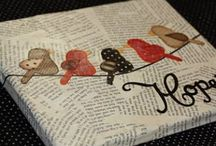 Altered art / by Sarah Foster : Iris May Designs