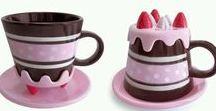 Eye candy / Pretty pastel royal icing decorated fakery cakes and sweet items.