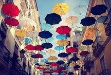 Fab: re-brollies / Old umbrellas can be refabbed! (old umbrella, upcycle umbrella, craft with umbrellas, umbrella decor) / by ReFab Diaries   Candice C.