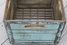 Cool  Baskets, Buckets & Boxes  / by Tina's Treasures