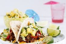 Tex-Mex Fiesta! / A collection of tasty Tex-Mex drinks and eats from some of your favorite food bloggers for a Latin dinner, picnic, or Cinco de Mayo fiesta! / by NoshOn.It