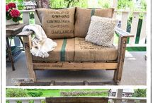 Make it with pallets or crates! / by Donna Morbitzer-Thompson