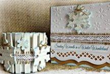 Crafts-Handmade Christmas cards / All handmade Christmas cards
