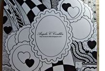 Crafts - Heartedly Handcrafted - Art by Angela Conklin / A mix of pencil drawings, Zentangle and digital drawings for crafts