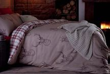 We Love Sleeping In / Gorgeous bed linen for restful nights and lazy mornings.