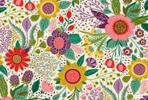 Patterns / Organic / Pattern design with elements from nature