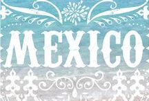 Theme / Mexico / Artistic inspiration from Mexico: Dia de los Muertos (Day of the Dead), papel picado, amate bark paper paintings, embroidery, fashion