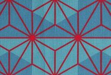 Patterns / Graphic / Pattern design with traditional, geometric, symmetrical shapes and motifs
