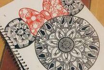Mandala draw