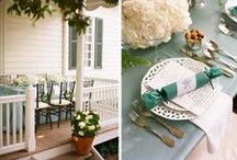 pretty tables / by Courtney Spencer