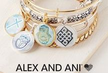 Alex and Ani / Fashionable, affordable and fun - Alex and Ani bangles are made in America. They are great on their own or stacked together. Perfect gift idea for any woman.