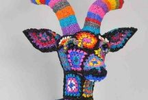 Unexpected Knittings & Crochetings / Quirky, curious and charming things