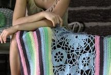 knitted and crochet afghans