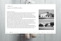web / Original websites | #interactive, #responsive, #layout #web design / by Raquel Rodilla