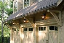 EXOVATIONS Garage Doors / Replacing your garage doors is one of the simplest ways to dramatically enhance your home's curb appeal. Installing insulated garage doors provides energy efficiency that can save money heating and cooling your home. | Atlanta, Georgia / by EXOVATIONS