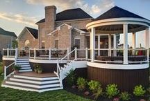 TREX Decking / EXOVATIONS® is proud to be a TrexPRO® PLATINUM certified contractor. These are some of our favorite TREX designs and styles of the composite decking. | Atlanta, Georgia / by EXOVATIONS