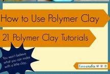Polymer Clay DIY & Tutorials / #polymer_clay #clay #diy #tutorial