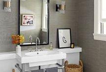 New Home: Powder Room / by Breanne Davis