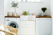 laundry + mud rooms / by Laura Beth Wilkerson