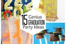 High School Graduation Class of 2015! Party Ideas / www.atlantago2rose.com (Lifestyle Blog)