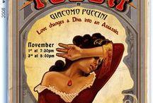 Opera Posters / by Met Opera Guild (MOG)